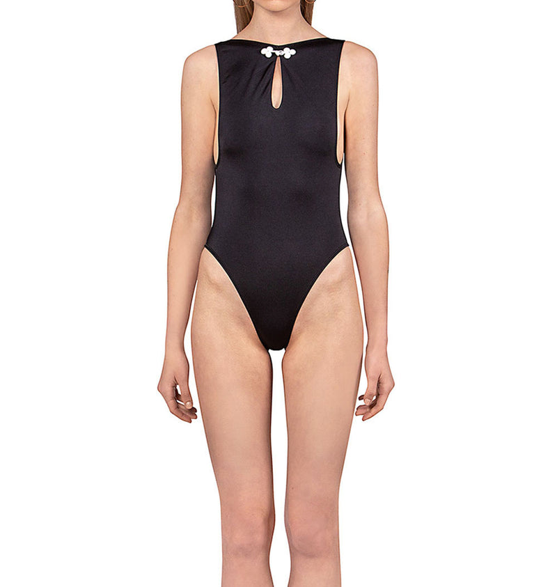 Chinese knot bodysuit