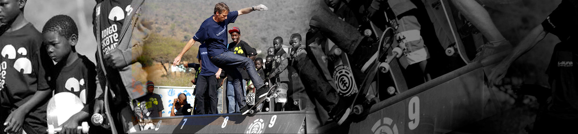 Lo skateboard: da Tony Hawk a un villaggio Zulu