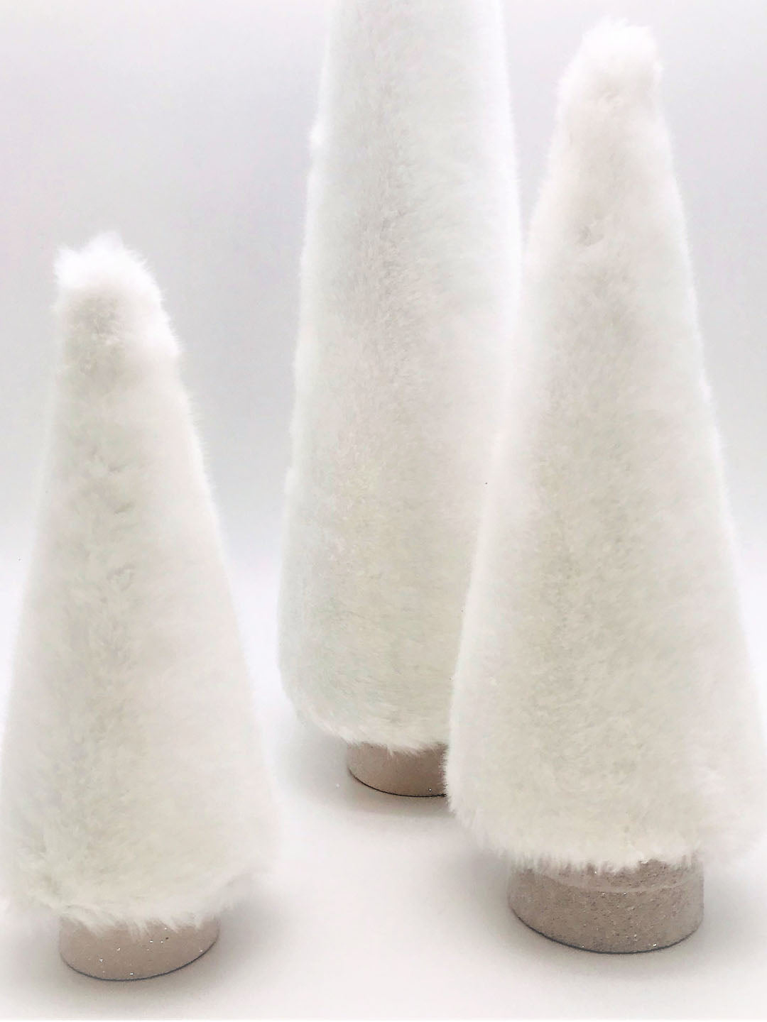 "Fur Covered 26"" Tree - Snow"