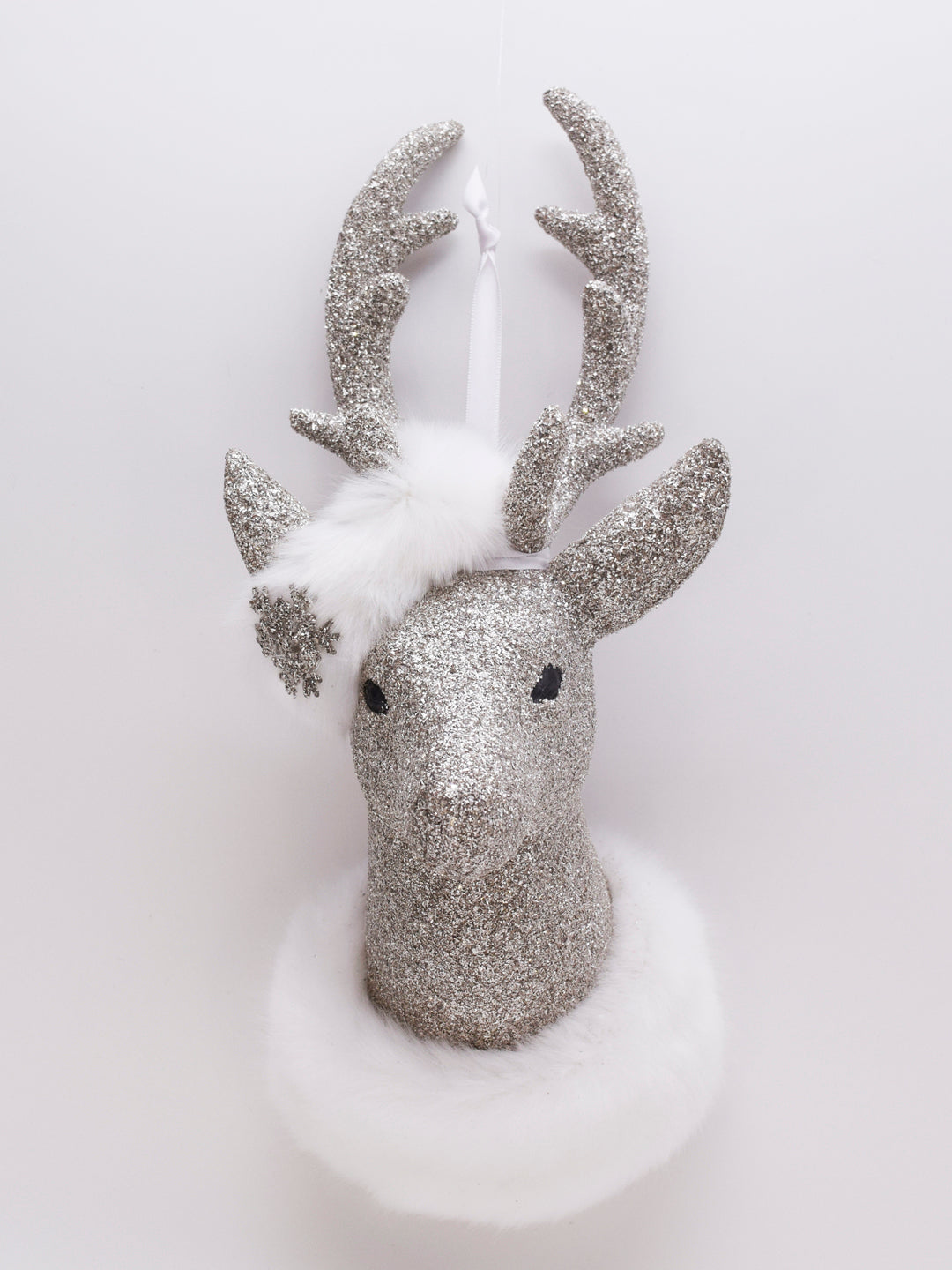 Hanging Stag - Silver
