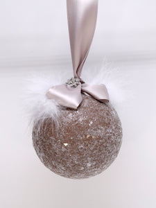 Bauble Ornament - Mocha