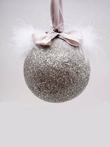 Bauble Ornament - Silver