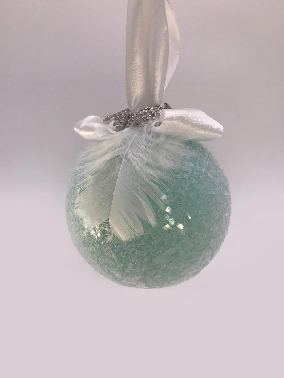 Bauble Ornament - Turquoise