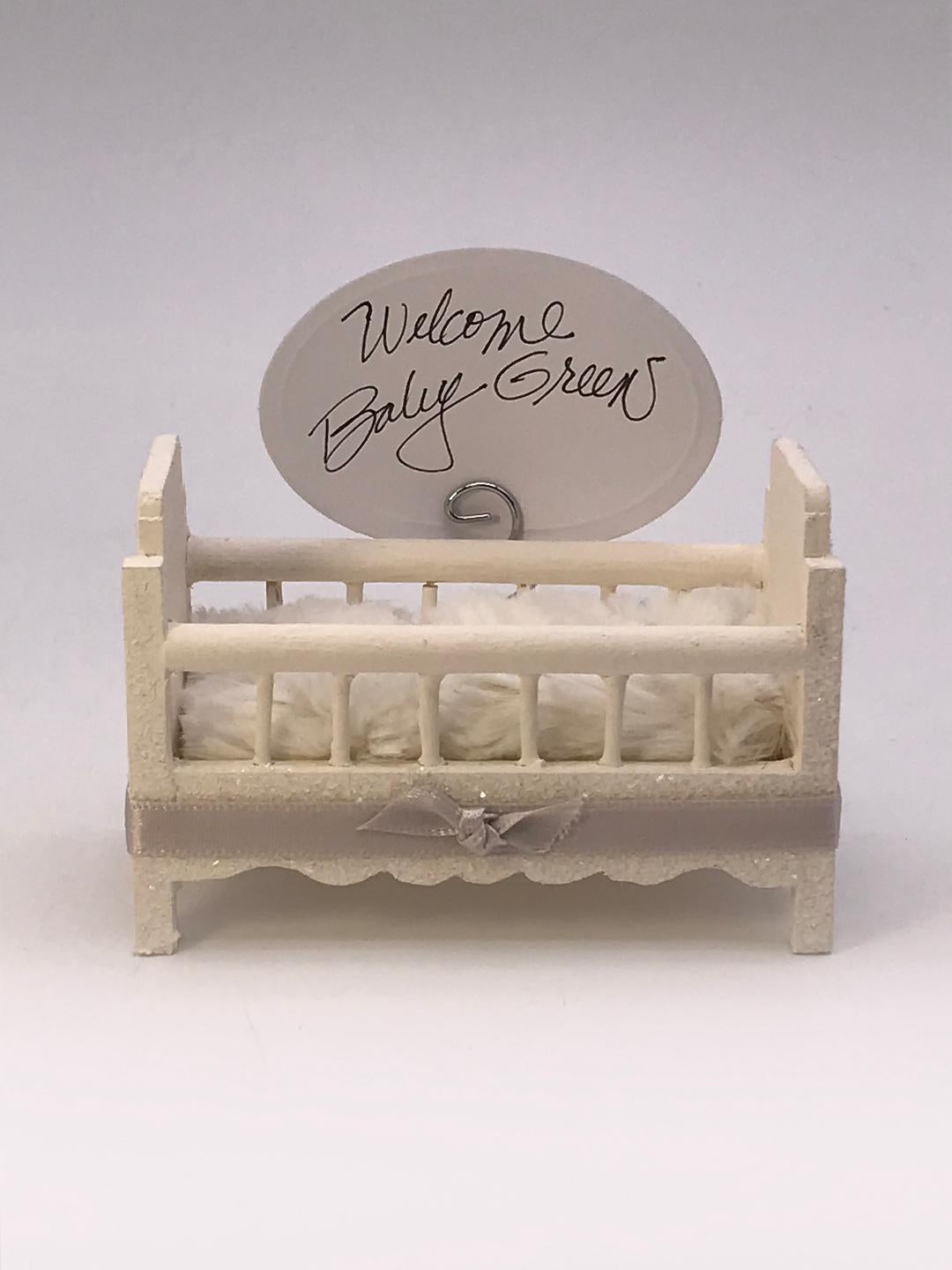 Crib Cardholder - Cream