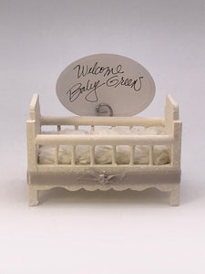 Crib Card Holder - Blush
