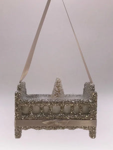 Crib Ornament - Silver