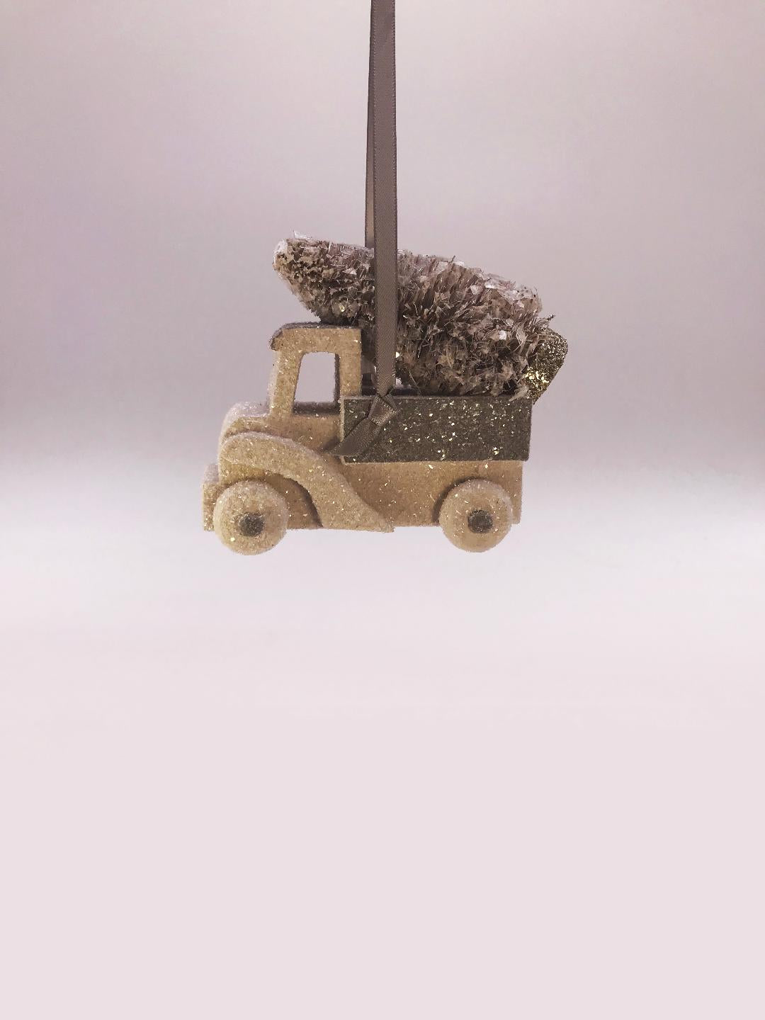 Truck Ornament - Dove