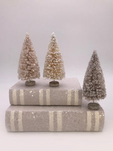 "Flocked 6"" Tree - Cream"