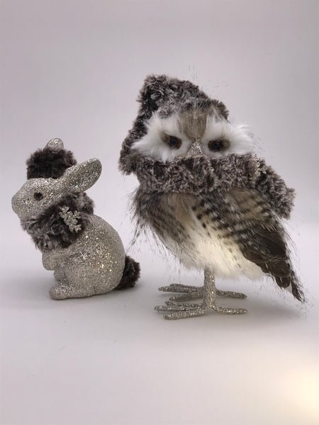 Chilly Gray Owl - Ash Fur