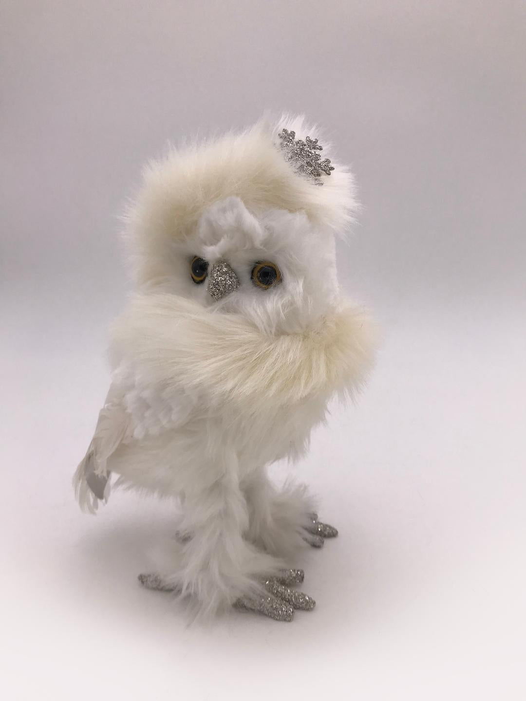 White Chilly Owl - Cream Fur