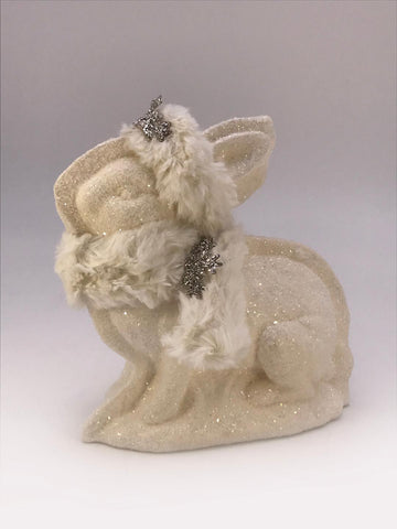 Bunny Mold - Bisque Fur