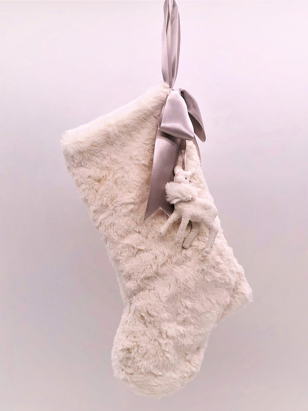 "Stocking with Fawn 10 "" - Bisque Fur"