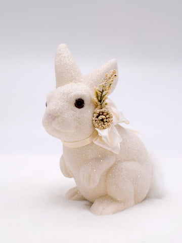 Bunny with Heather - Cream