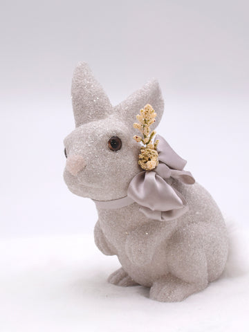 Bunny with Heather - Dove