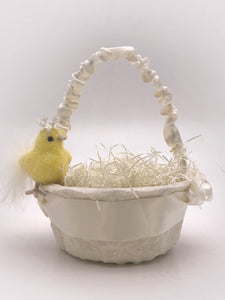 Peep Basket - Cream