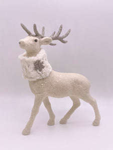 Glitzen Deer - Cream, Bisque Fur