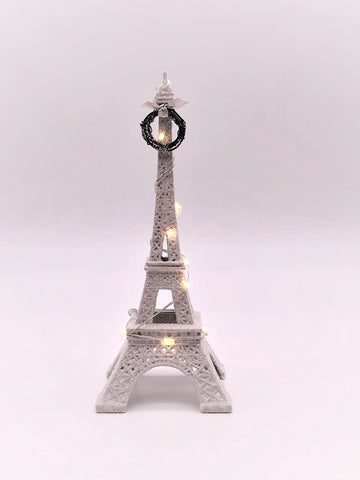"Eiffel Tower, Lit 1.75"" x 9.75""- Dove"