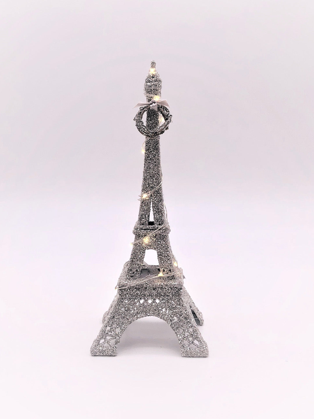 "Eiffel Tower, Lit 1.75"" x 9.75""- Silver"
