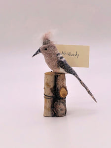 "Woodpecker Card Holder 3.5"" x 6"""
