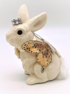 Bunny with Butterfly - Cream