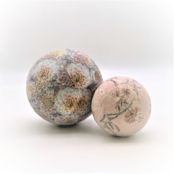Orb - Decoupage, Small,  Blossom