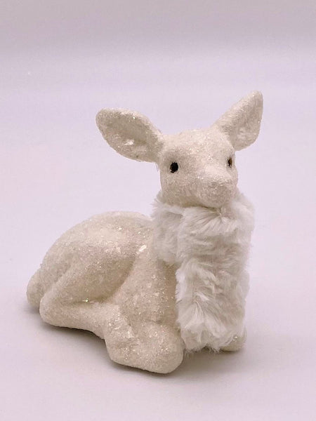 Cupid Deer - Cream, Bisque Fur