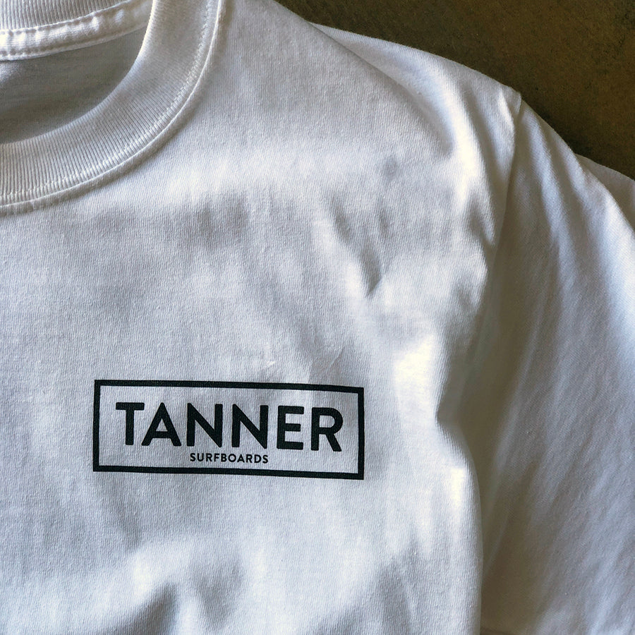 Tanner Surfboards Original B&W Tee