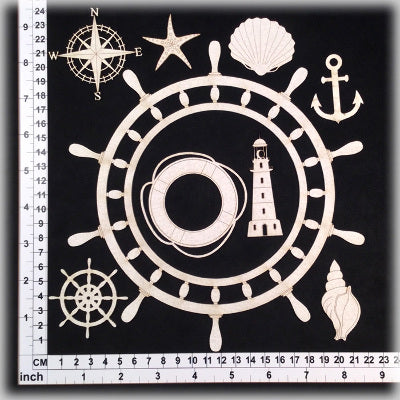 SCRAPMATTS - NAUTICAL DESIGNS 03