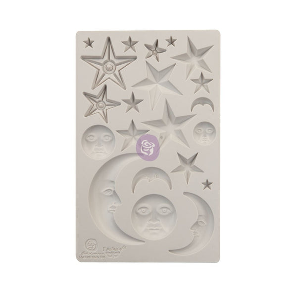 Prima - Finnabair - Stars and Moon Moulds