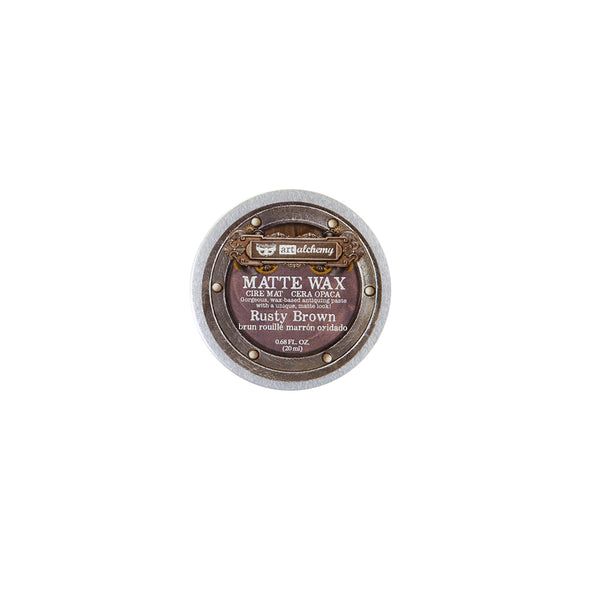 Prima - Finnabair - Art Alchemy - Wax Paste - Rusty Brown