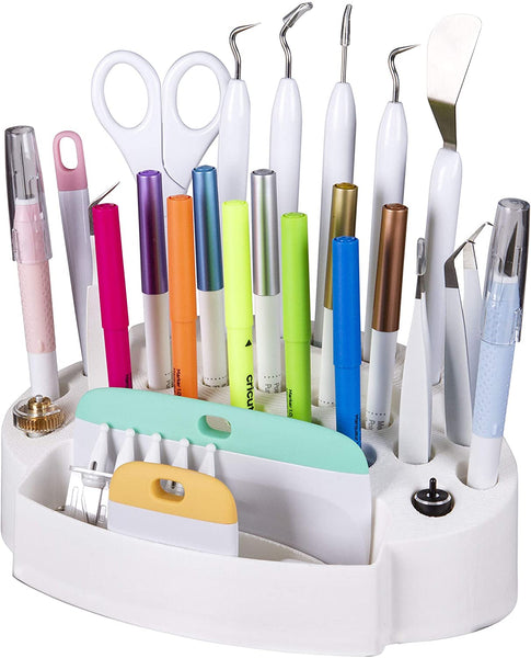 ArtBin Desktop Accessory Storage with 24 Slots, White(PREORDER)  (TOOLS NOT INCLUDED)