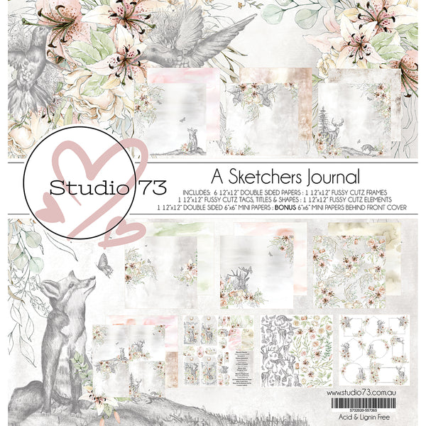 STUDIO 73 - SKETCHERS JOURNAL - COLLECTION PACK