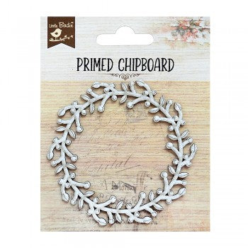 Little Birdie - Chipboard - Fern Wreath