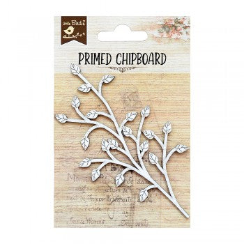Little Birdie - Chipboard - Spring Leaf