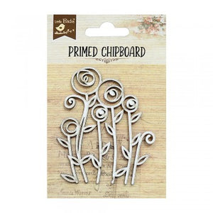 Little Birdie - Chipboard - Primrose 1pc
