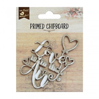 Little Birdie - Chipboard - Life is in the air 1 pc