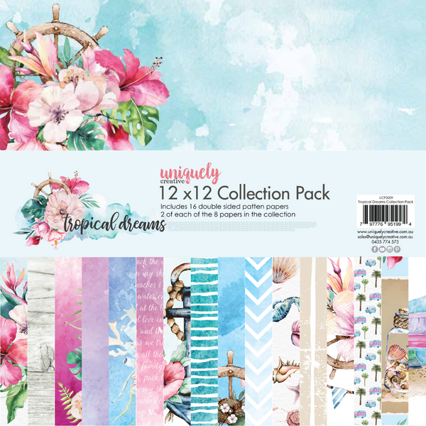 Uniquely Creative - Tropical Dreams Collection Paper Pack