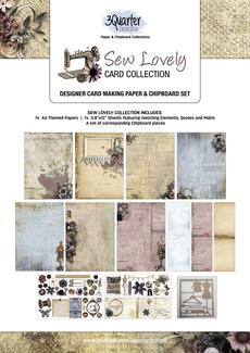 3 Quarter - Sew Lovely Card Collection