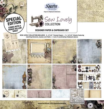 3 Quarter - Sew Lovely Collection