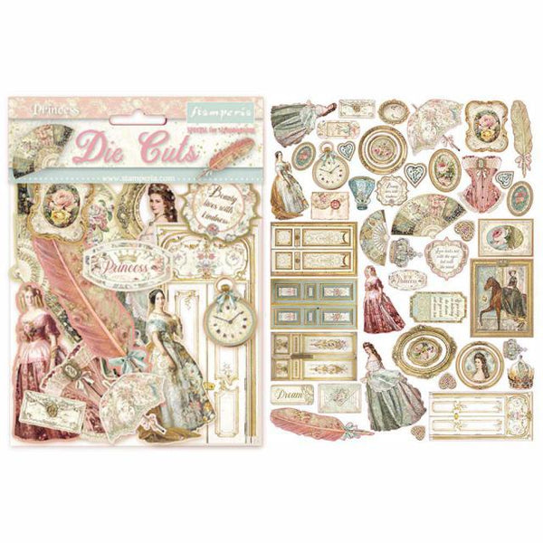 STAMPERIA - DIE CUTS - PRINCESS