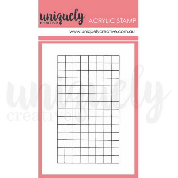 UNIQUELY CREATIVE - GRID MAKING STAMP