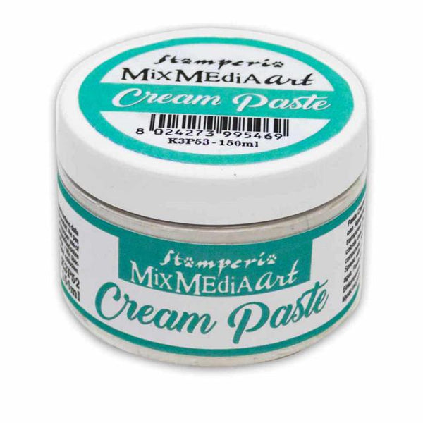 Stamperia - Mix Media Art- Cream Paste