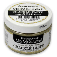 Stamperia - Mix Media Art- Crackle Paste -Gold