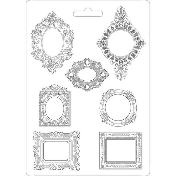 STAMPERIA - SOFT MOULD A4 SIZE FRAMES