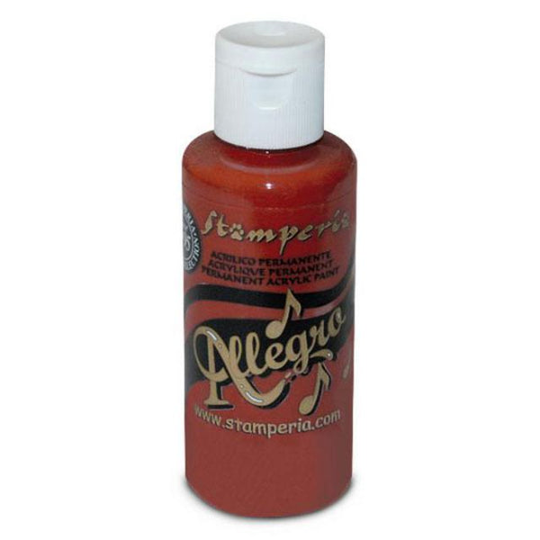 Stamperia - Allegro - Acrylic paint - 59ml - Brick Red