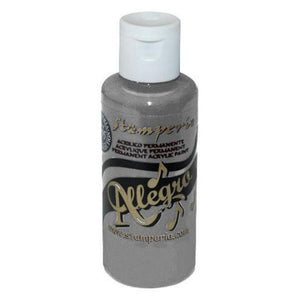 Stamperia - Allegro - Acrylic paint - 59ml - Grey