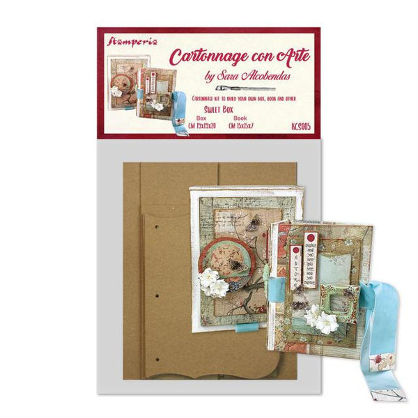 Stamperia - Cartonnage Kit - Sweet Box