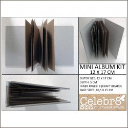 CELEBR8 -KRAFT -  MINI ALBUM KIT