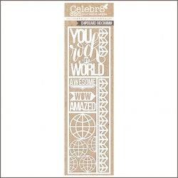 CELEBR8 - CHIPBOARD - ROCK MY WORLD