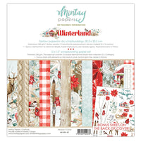 AVAILABLE NOW- MINTAY BY KAROLA - 12 x 12 PAPER PAD - WINTERLAND